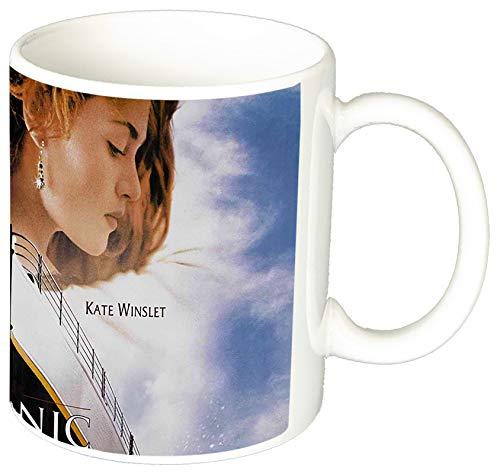 MasTazas Titanic Leonardo Dicaprio Kate Winslet C Tasse Mug