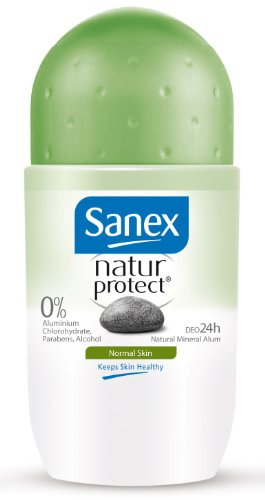 Sanex - Déodorant Roll-On Homme - Natur Protect - Peaux Normales - 50 ml