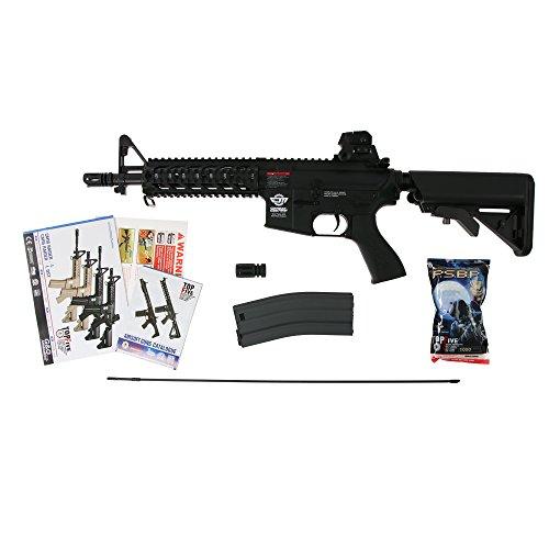 G & G ARMAMENT G&G CM16 Raider 0,5 Joule AEG Airsoft Gewehr in schwarz
