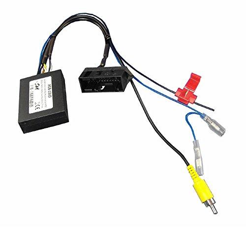 Maxxcount Rückfahrkamera Adapter geeignet für VW Werks-Rückfahrkamera Low bei Austausch eines RNS315, RNS510, RCD510, Columbus, Bolero oder Trinax gegen EIN Nachrüstradio