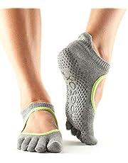 Toesox Full Toe Bellarina yoga-sokken voor volwassenen, uniseks