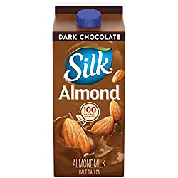 Silk Almond Milk, Dark Chocolate, Half Gallon, 64 oz
