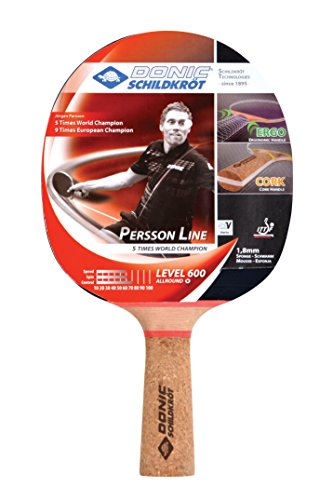 DONIC Person 600 Table Tennis Bat ( Brown, 85 grams, All-rounder )