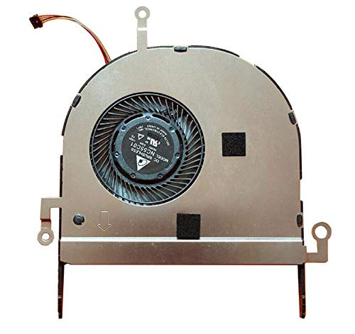 HuiHan Reemplazo para ASUS B9440 B9440U B9440UA ventilador de refrigeración para CPU portátil NC55C01-17E01
