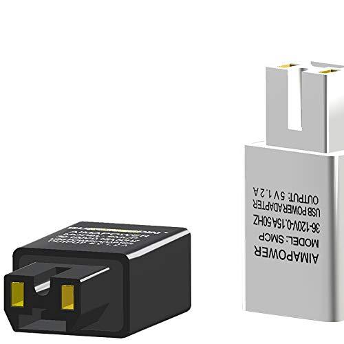 MXBIN Bicicleta eléctrica USB Cargador de teléfono 1.2A de Carga rápida Cargador...