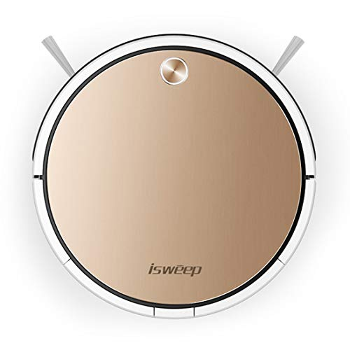 Great Features Of Robotic Vacuum Cleaner, 1800Pa Strong Suction, Super Thin & Quiet, WiFi & App Cont...