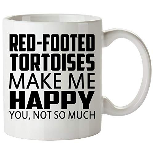 N\A Taza con Forma de Tortuga de Patas Rojas, Buena para Regalos, Taza de café única