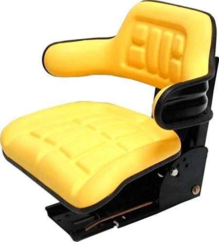 John Deere CC-2 MC1 Kabine Schleppersitz gelb passend Traktor
