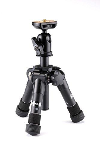 Velbon 卓上三脚 ウルトラロック ULTRA 353 mini 5段 小型 脚径21mm 自由雲台付 アルミ製 412782