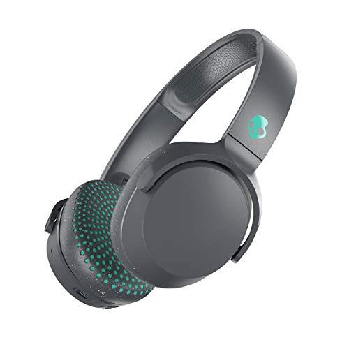 Skullcandy Riff Wireless On-Ear Headphone - Grey/Teal