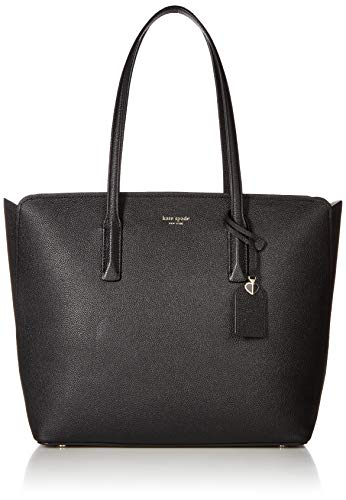 Kate Spade New York Women's Margaux Large Tote, Black/Warm Taupe, One Size