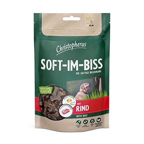 Allco Christopherus Soft-Im-Biss mit Rind | 12x 125g Hundesnack