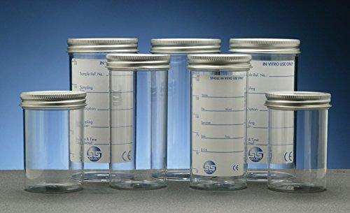 SLS Select Sls7574en polystyrène à nourriture, capuchon en métal, UNI à imprimer, 150ml (lot de 53)