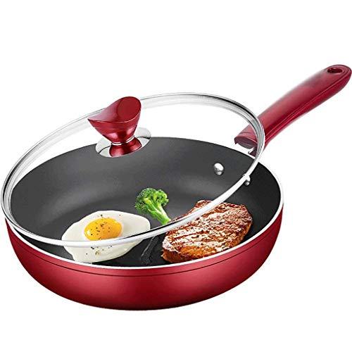 DHTOMC Steak Bratpfanne Satz Omelett artefakt kleinen Topf kein Ölrauch Wok brät Dual-Use-Antihaft-Pfanne flach Xping