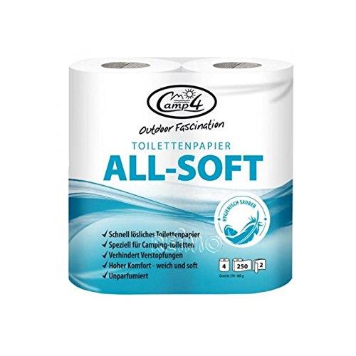 Toilettenpapier für Camping-Toilette