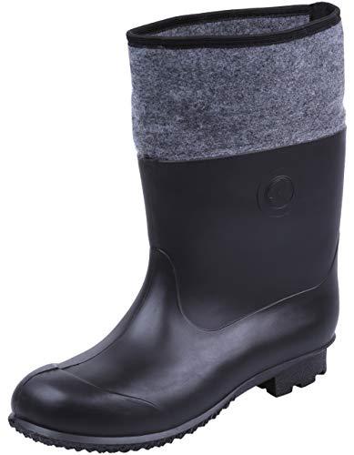 Botas de Agua de Color Negro Farmer KOLMAX 46