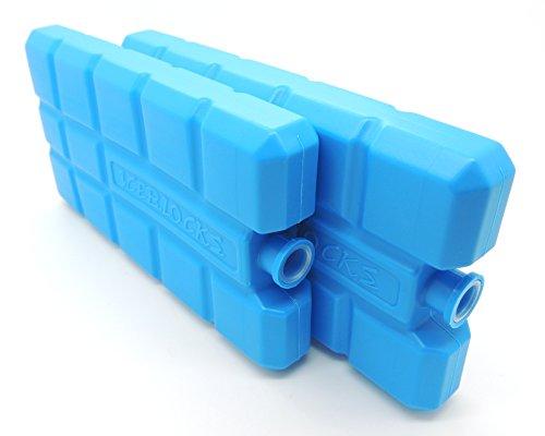NEMT 96 Stück Kühlakkus Kühlelemente je 200ml für Kühltasche oder Kühlbox bis 12 h Kühlpack Kühlakku
