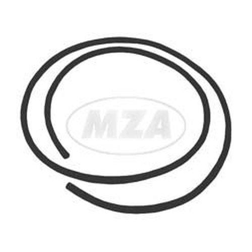 Keder für Frontschild und Locheinfassung, schwarz - Schwalbe KR51 (Fahrzeuggesamtlänge 1,10m)