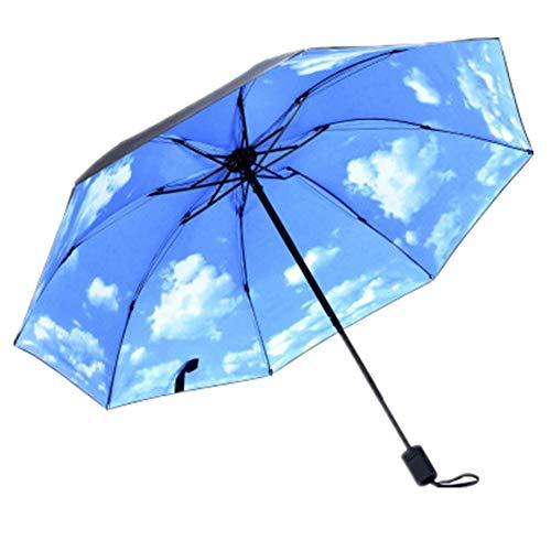pzcvo Windproof Umbrella Travel Umbrella Mens Umbrella Womens Umbrella Compact Umbrella Boys Umbrella Umbrellas For Women Sun Umbrella Childrens Umbrellas H,One Size