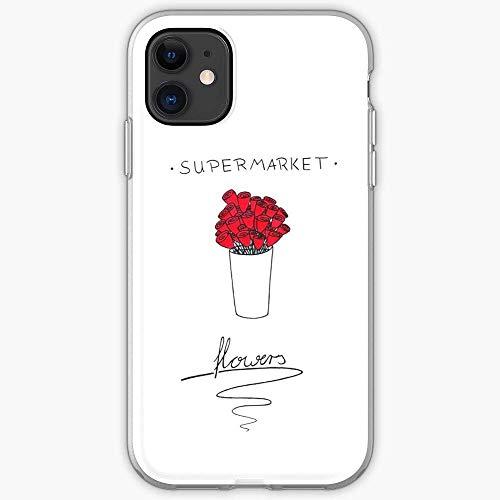 Compatibile con iPhone 12/11 PRO Max 12 Mini SE X/XS Max XR 8 7 6 6s Plus Custodie Music Sheeran Supermarketflowers Flower Supermarket Lyrics Ed Edsheeran Custodie per Telefoni Cover