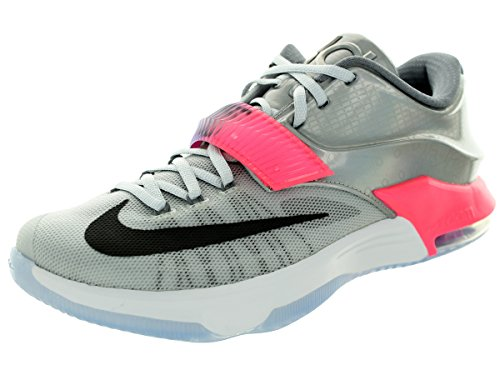 Nike KD VII AS Mens Basketball Trainers 742548 Sneakers Shoes Kevin Durant (UK 10 US 11 EU 45, Pure Platinum Multi Color Black 090)