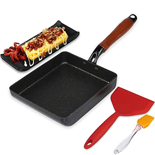 Artcome Japanese Omelette Pan Non-stick Coating...