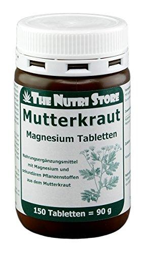 The Nutri Store Mutterkraut Magnesium Tabletten, 150 St. Tabletten