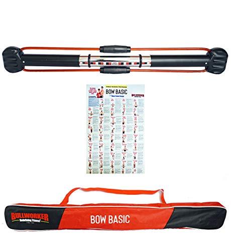 Bullworker Bow Basic: Isometrisches Krafttrainingsgerät für Ganzkörper-Fitness