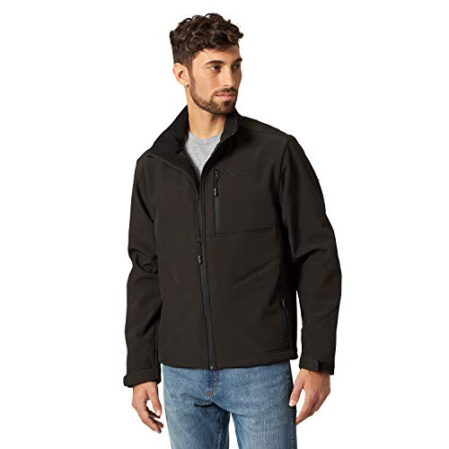 Wrangler Men's Concealed Carry Stretch Trail Jacket, Black, XLT