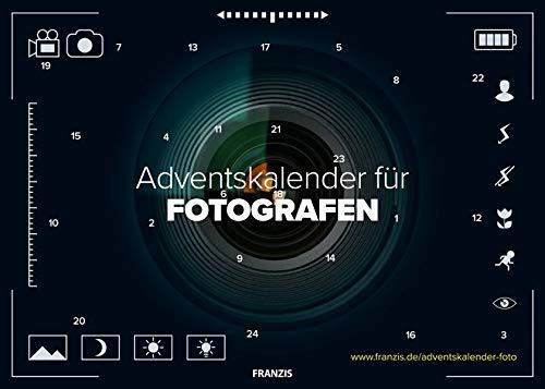FRANZIS Adventskalender für Fotografen 2018 | 24 Überraschungen für Fotografen | Ab 14 Jahren