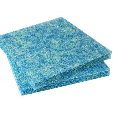 ZOYOSI 50X50X4cm Aquarium Biochemical Rattan Cotton Fish Tank Pond Filter Foam Sponge - Multi Color