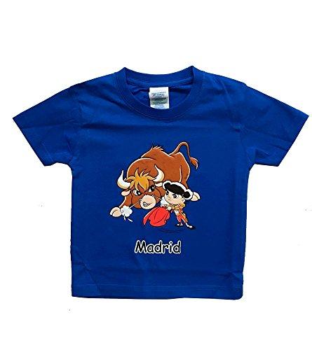 ZiNGS Camiseta Toro y torero Infantil - 4 años