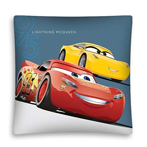 AHS Cars Disney per Bambini Cuscino Federa 40x 40cm Imbottitura Non Inclusa