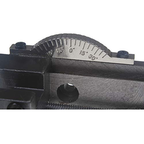 AKDSteel Drehbare Drehmaschine Werkzeughalter S/N 10154 Sieg Mini Drehmaschine Zubehör Drehmaschine Werkzeughalter Fräsaufsatz Praktische Elektronik