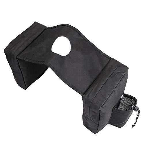 JoyFan Motorrad Satteltaschen Satteltaschen Packtaschen wasserdichte Seitentasche Universal Fit für ATV/UTV Quad Roller - Schwarz