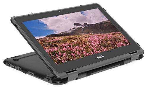 mCover Hard Shell Case for 2019 11.6' Dell Chromebook 3100 2-in-1 Education (360-degree Hinge) Laptop (NOT Compatible with 3181 2in1, 210/3120/3180/3189/5190/3100 Series) - Dell-C3100-2in1 Black