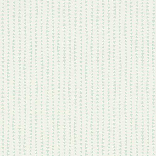 Rasch behang papierbehang (kindvriendelijk) groen wit 10,05 m x 0,53 m Bambino XVIII 249163 behang