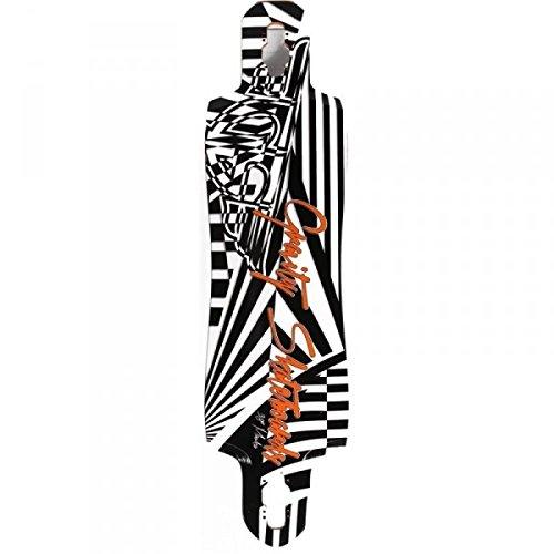 Original S.W.A.T. Gravity Longboard Drop Through Freeride Deck Mauka Blitz 36 x 9.75 inch mit Kratzern zum Specialpreis!!!