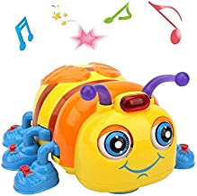 TINOTEEN Musical Baby Toy Toddlers, Crawling and Singing Bee Toys