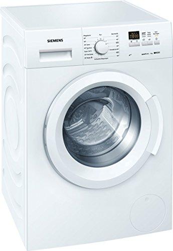 Siemens WS12K140 Lavadora FL/A+++ / 153 kWh/año / 1200 rpm / 6 kg / 10120 L/año/con opción speedPerfect en hasta un 60% menos de tiempo para obtener un resultado de lavado perfecto.