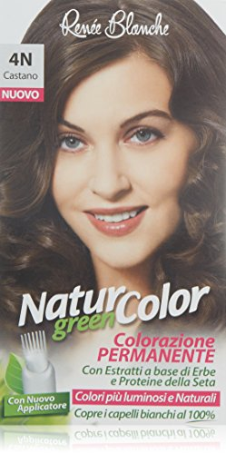 teinture pour les cheveux coloration permanent naturel natur color green4 n brun