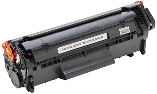 Toner compatibel met HP GCP Q2612A, zwart, 2000 pagina's