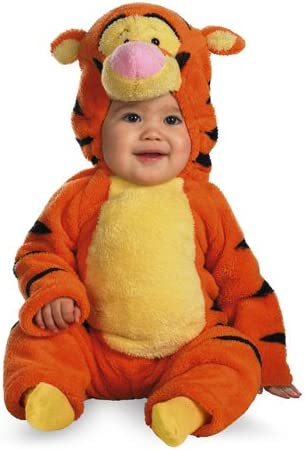Tigger Deluxe Two-Sided Plush Jumpsuit Costume 12-18 Finally popular brand Mesa Mall months