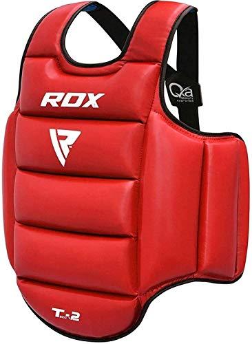 RDX TKD Chest Guard Boxing MMA Body Protector Martial Arts Reversible Rib Shield Armour Taekwondo Target Training Kickboxing