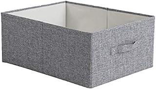 FEIHAIYANYzwl Boite de Rangement, Boîte de rangement Panier Tissu Tissu Vêtements Boîte de rangement Type de tiroir Vêteme...