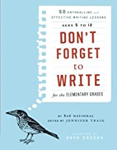 don t forget to write book