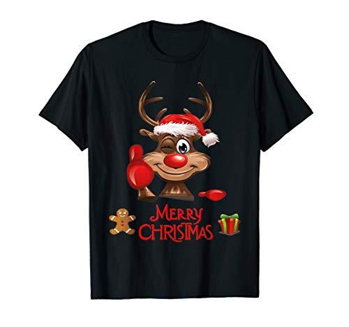 Weihnachts Shirt Feiertage Geschenk Geschenkidee Nikolaus T-Shirt