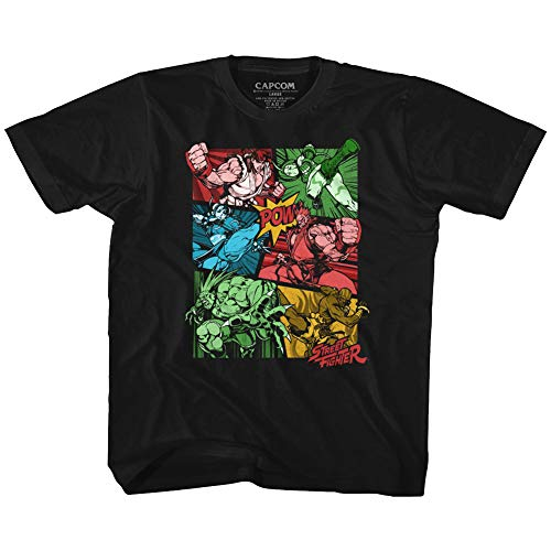 Street Fighter - - T-Shirt de développement de bébé Unisexe, 4T, Black