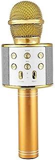 COODIO Blueteeth Wireless Microphone Handheld Karaoke Mic USB KTV Player Blueteeth Speaker Record Music Microphones Gold