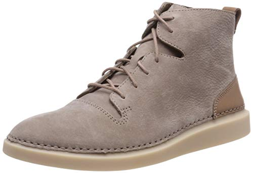 Clarks Damen Hale Rise Hohe Sneaker, Beige (Taupe Nubuck), 38 EU